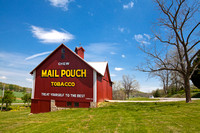 Lanesvillie, Indiana Mail Pouch Barn
